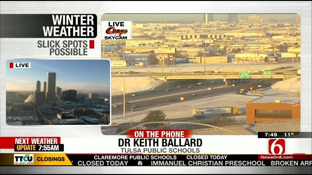 WEB EXTRA: Tulsa Public Schools Superintendent Dr. Keith Ballard Talks About Closing Schools