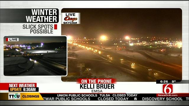 WEB EXTRA: EMSA's Kelli Bruer Talks About Winter Weather Impact