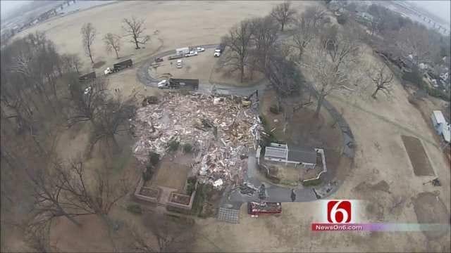 WEB EXTRA: Drone, GoPro Camera Capture Blair Mansion Demolition
