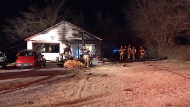 WEB EXTRA: Video From Scene Of Garage Fire In 3600 Block Of West 59th Street