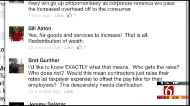 OK Talk: Would Raising The Minimum Wage Do Any Good?
