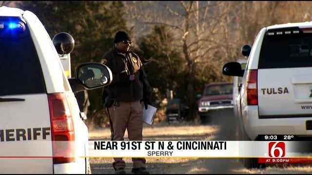 Police Arrest Suspect In Sperry Shooting