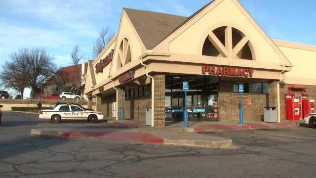 WEB EXTRA: Video From Scene Of Tulsa Walgreens Robbery