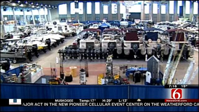 Tulsa Boat And Travel Show Underway At Tulsa County Fairgrounds