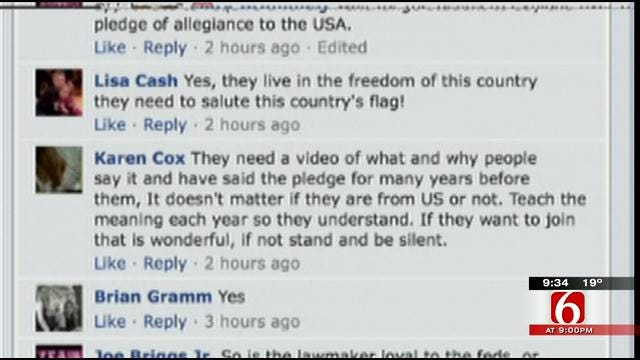 OK Talk: Should Kids Be Required To Recite The Pledge Of Allegiance In School?