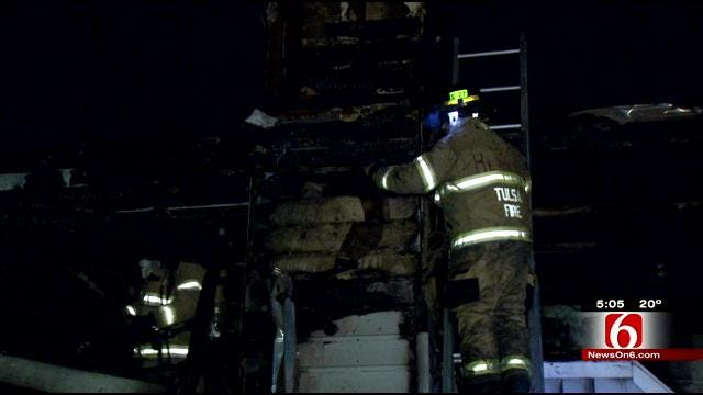 Two-Alarm Fire Leads To Evacuations At East Tulsa Apartment Complex
