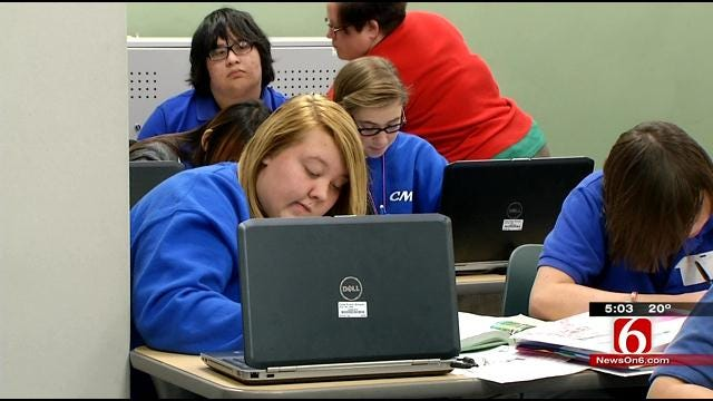 Oklahoma Public School Students Giving Computers A 'Stress Test'