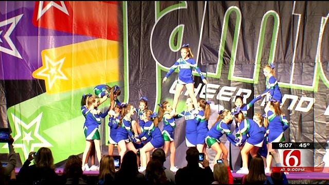 Jam Fest Stages Cheer, Dance Competition In Tulsa
