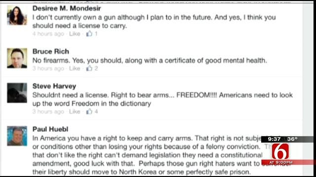 OK Talk: Should You Need A License To Carry A Gun?