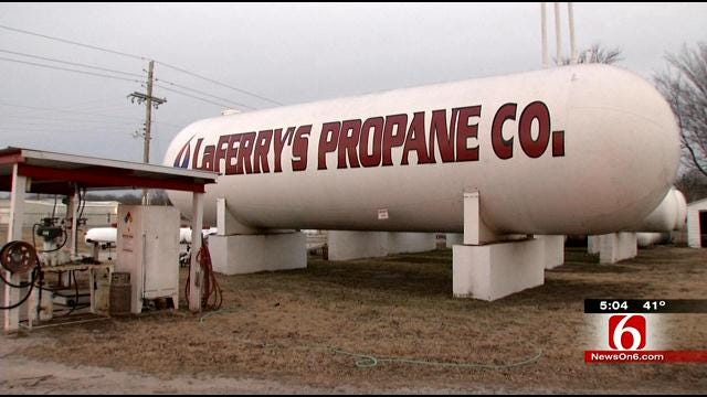 Propane Price Spike Leaving Oklahomans In The Cold