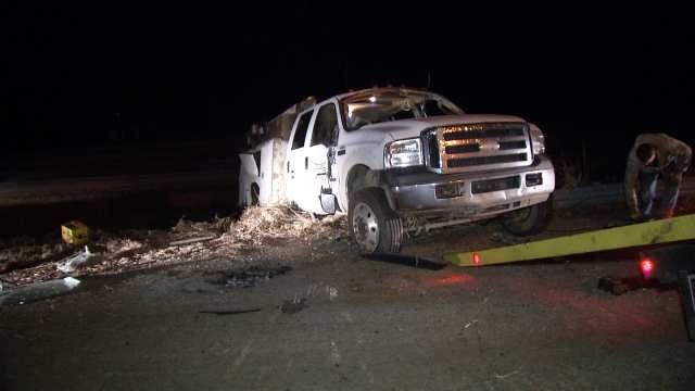 WEB EXTRA: Video From Scene Of Highway 97 Crash