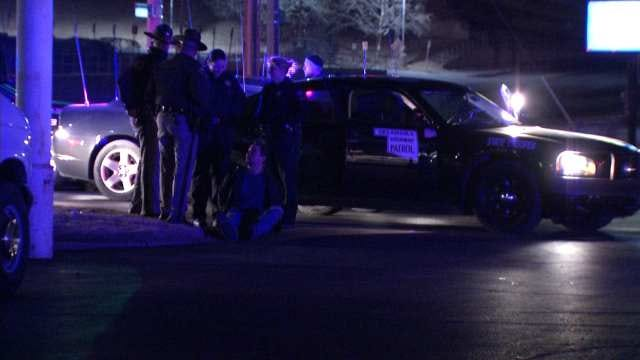 WEB EXTRA: Video Of Scene Of OHP Incident At 42nd And Sheridan