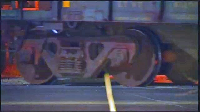 WEB EXTRA: Video Of Railroad Crossing At Peoria