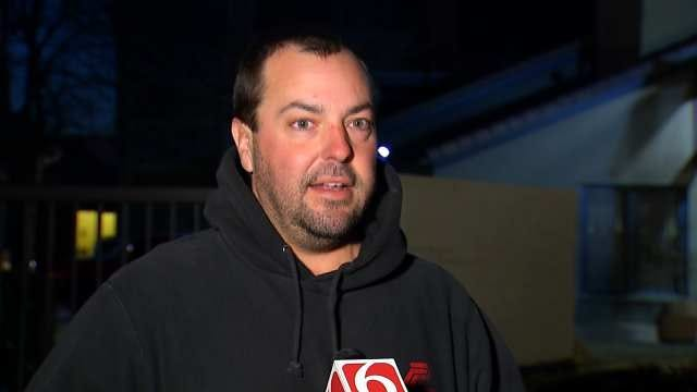 WEB EXTRA: Travis Gilbreath Talks About Being Shot At