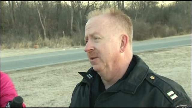WEB EXTRA: Tulsa Police Captain Steve Odom Talks About The Accident