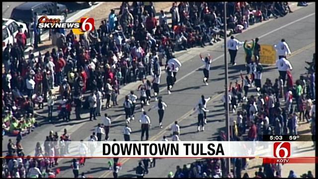 Tulsa's Martin Luther King Jr. Parade Honors Civil Rights Leader