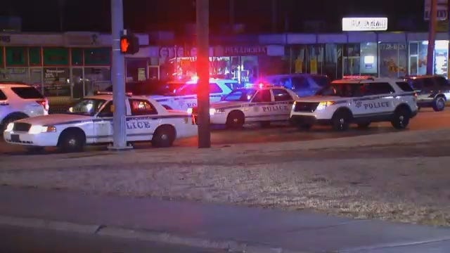 WEB EXTRA: Video From Scene Of 31st And Sheridan Armed Robbery
