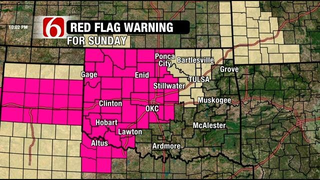 Dick Faurot Talks About Fire Danger, Wind In Green Country