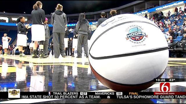 High School Basketball At The BOK Center
