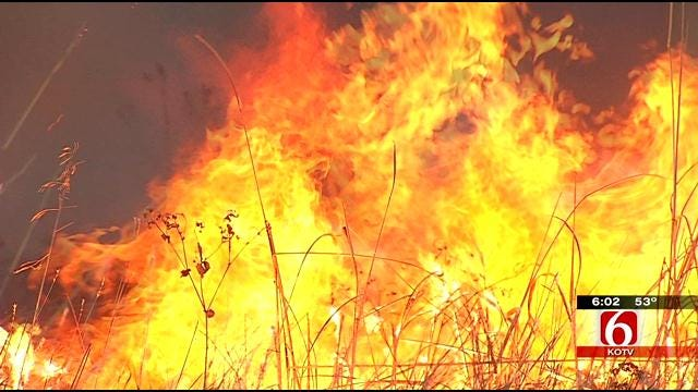 Oklahoma Fire Departments Joining Forces For High Fire Risk