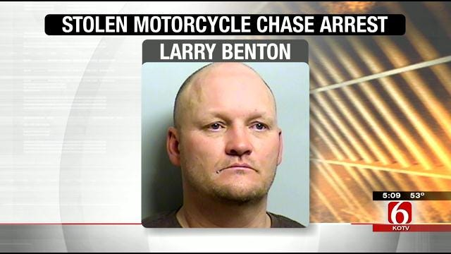 Tulsa Police: Stolen Motorcycle Chase Ends With Arrest