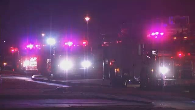 WEB EXTRA: Video From Scene Of Tulsa House Fire On 46th Street