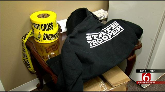 Two Approached By Creek County State Trooper Imposter