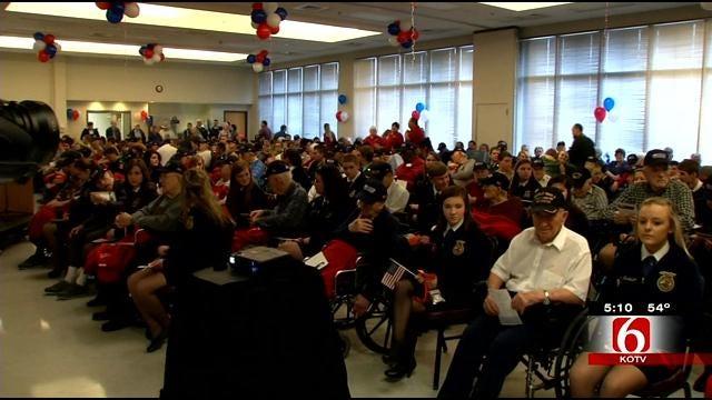 World War 2 Veterans Honored In Claremore