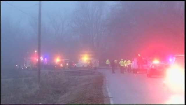 WEB EXTRA: Video From Scene Of Fatal Broken Arrow Pickup Truck Crash