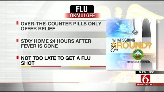 What's Going Around: Strep Throat, Stomach Flu, Flu