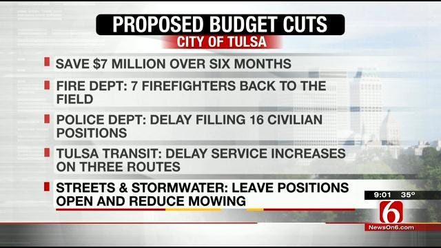 Tulsa Administration Reveals Plan To Cut Spending