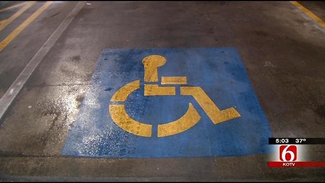 Tulsa City Council Mulls Tripling Handicapped-Parking Fines