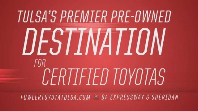 Fowler Toyota Tulsa: Premier Pre-Owned Destination