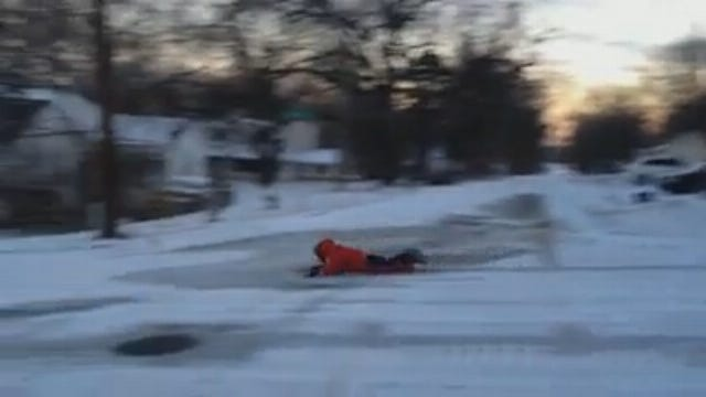 WEB EXTRA: Claremore Sledders On Blue Star Drive #3