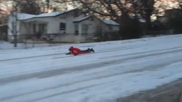 WEB EXTRA: Claremore Sledders On Blue Star Drive #2