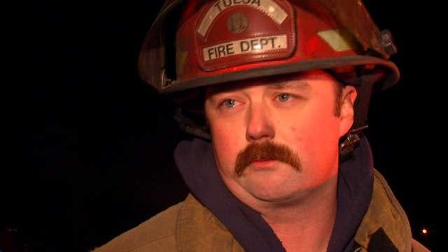 WEB EXTRA: Fire Captain Chad Meyer Talks About The North Tulsa Fire