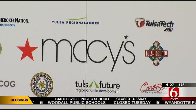 Tulsa County Sets Public Hearings For Macy's Tax Plans