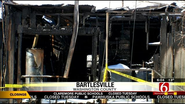 Bartlesville Police Identify Five Bodies Found After Saturday's Fire