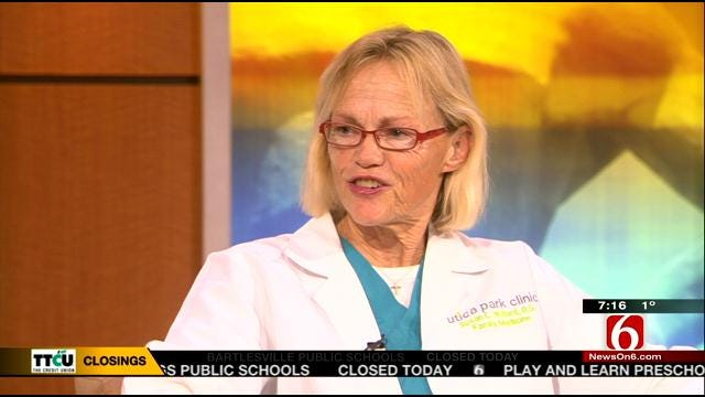 Tulsa Doctor Warns About Wind Chill Dangers