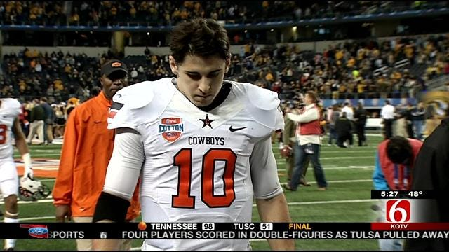 Disappointment Of Cotton Bowl A Sign Of How Far OSU Has Come