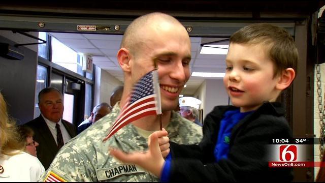 Oklahoma Army Reserves Head For Afghanistan