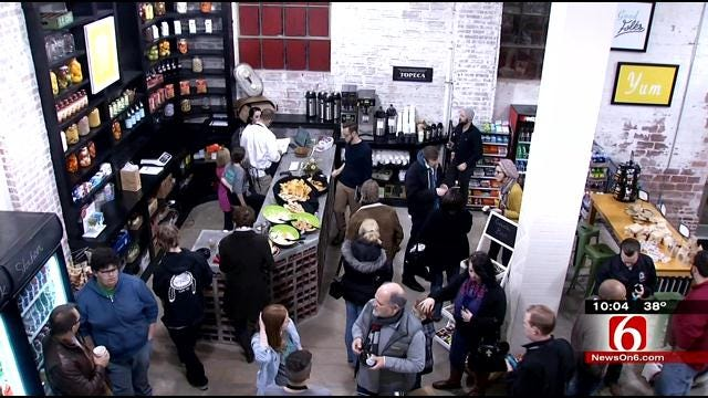 Downtown Tulsa's Brady Arts District Sees Grocery Store Open