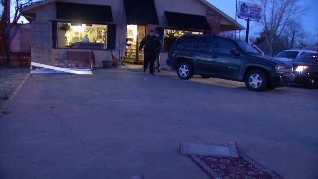WEB EXTRA: Video From Scene Of Mounds Pharmacy Burglary