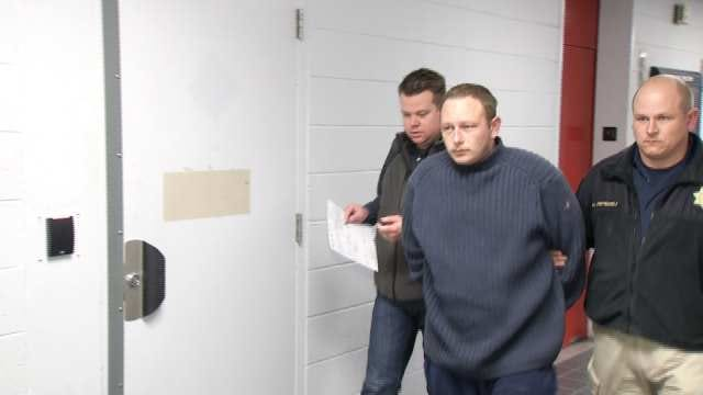 WEB EXTRA: Exclusive Video Of William Bauders Following His Arrest