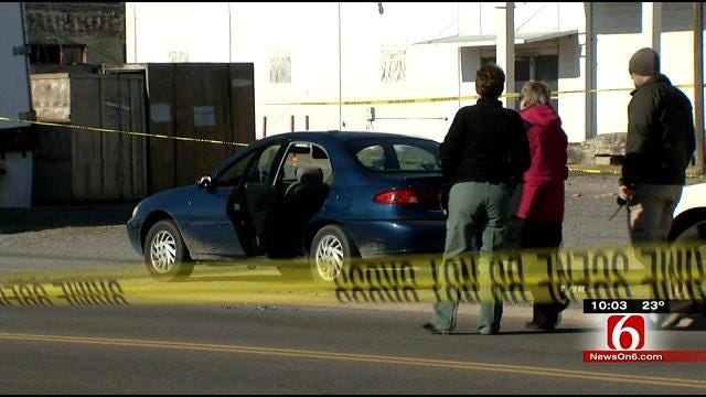 Muskogee Police Investigate Officer-Involved Shooting, Car Theft