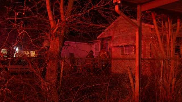 WEB EXTRA: Video From Scene Of Tulsa House Fire at Xyler And Marion
