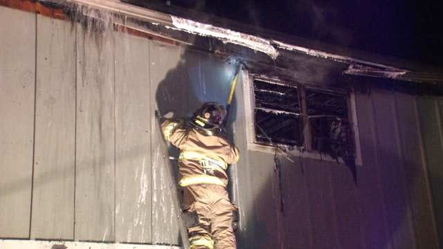WEB EXTRA: Video From Scene Of Apartment Fire In 5200 Block Of East 47th Place