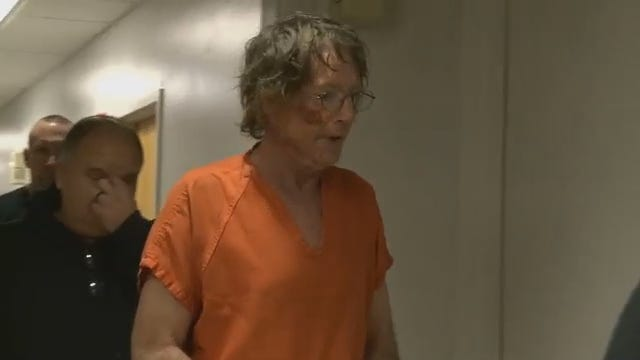 WEB EXTRA: Video Of Harry Mapps Walking Into A Sequoyah County Courtroom