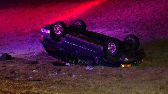 WEB EXTRA: Video From Scene Of SUV Crash On Highway 412