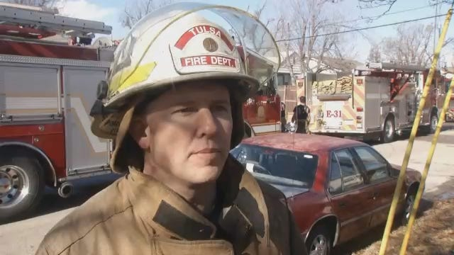 WEB EXTRA: Tulsa Fire Chief On Explosive House Fire